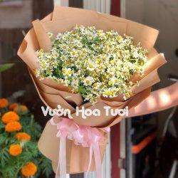Bó hoa tươi cúc tana