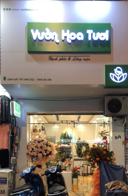 Tiệm Hoa tươi Sài Gòn Quận 3