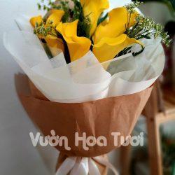 Bó hoa Rum vàng