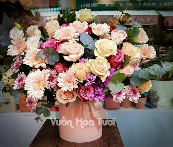 Hộp hoa sinh nhật Như Ý