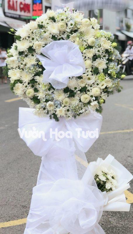 Kệ hoa tang chia buồn