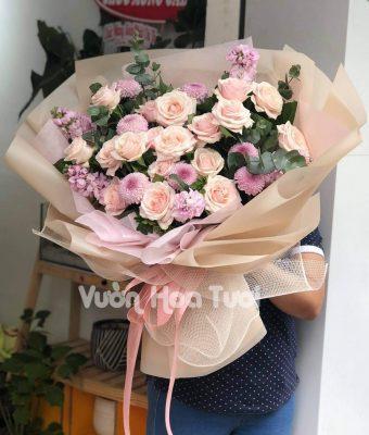 Bó hoa Phi Yến
