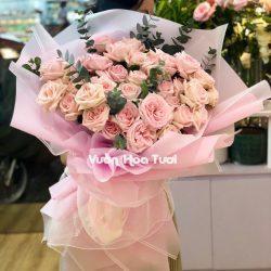 Bó hoa hồng Ohara