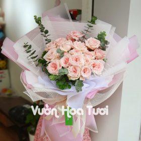 Bó hoa hồng 20 hoa Ohara