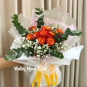 Bó hoa Hồng chúc mừng sinh nhật