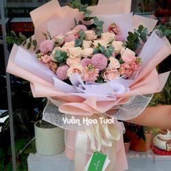 Bó hoa hồng chúc mừng sinh nhật BHT56